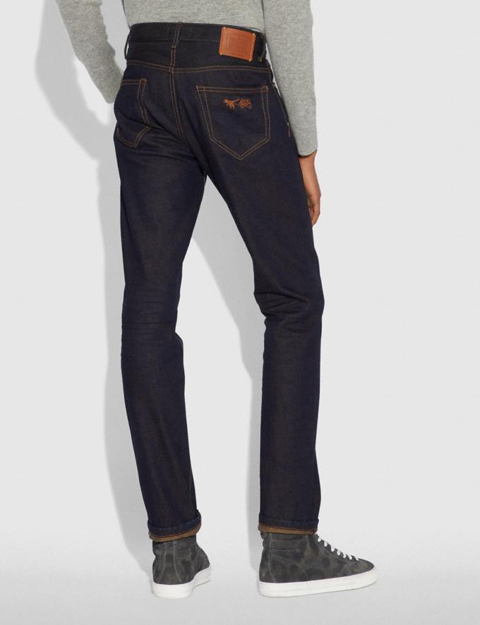 Coach Dark Wash Denim Pants Indigo Men Ready-to-Wear Tops & Bottoms Alternate View 2