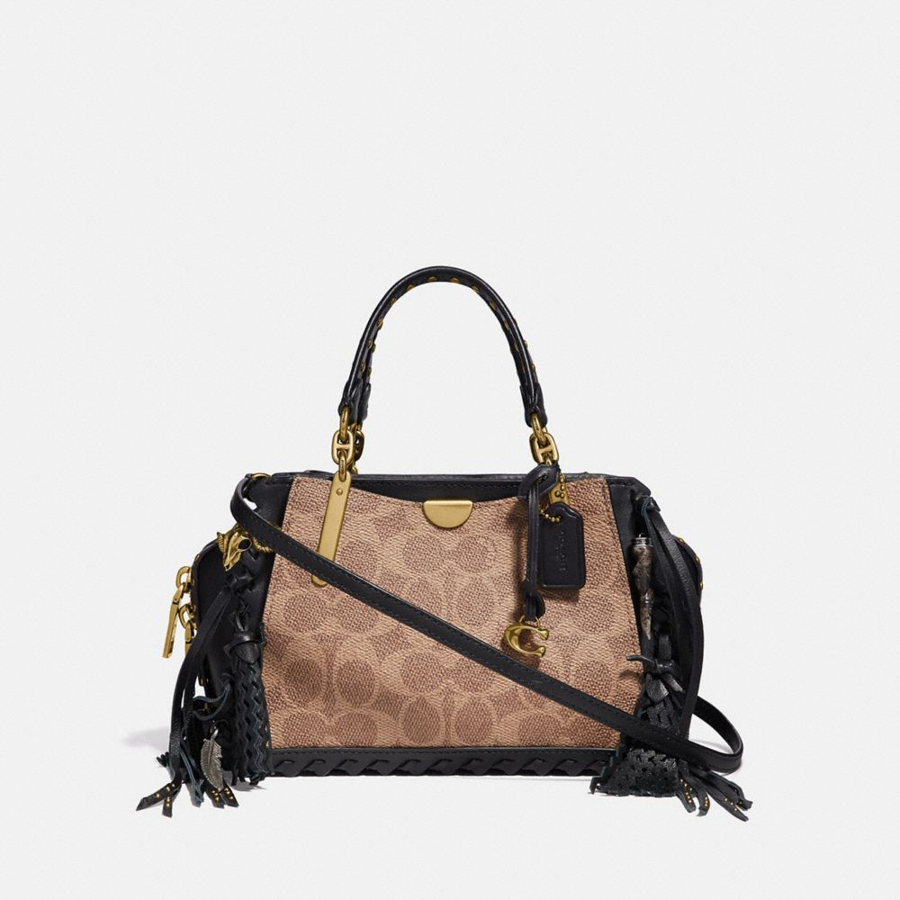 Coach Dreamer 21 in Signature Canvas With Whipstitch