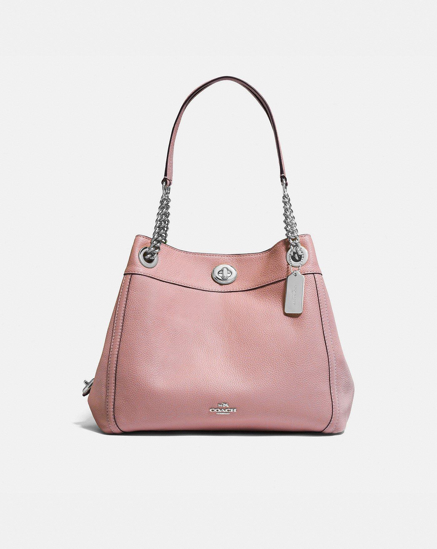 COACH  Turnlock Edie Shoulder Bag 8fdcfd08f3d07