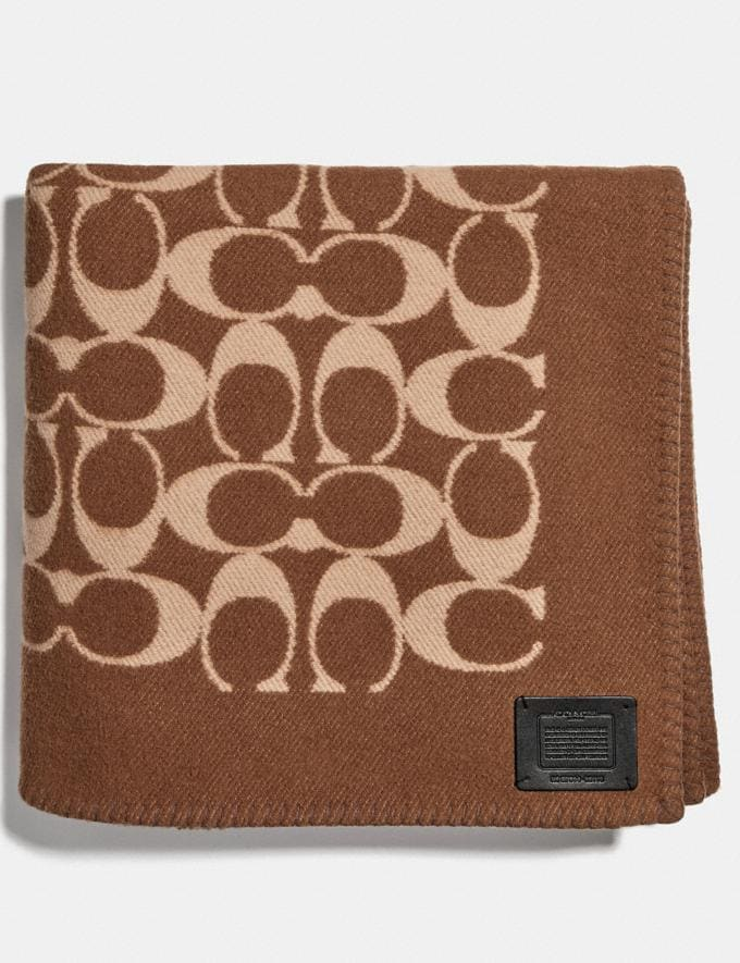 Coach Monogram Blanket Khaki SALE Women's Sale