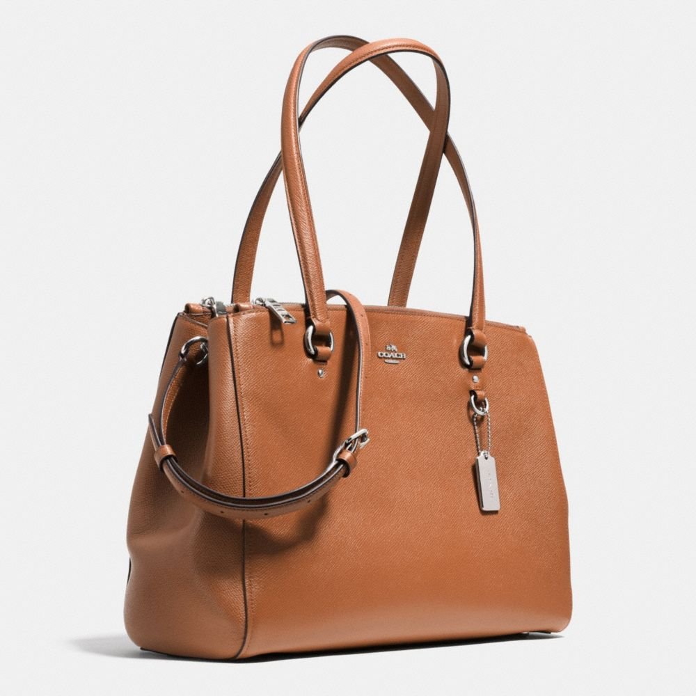 Stanton Carryall in Crossgrain Leather - Alternate View A2