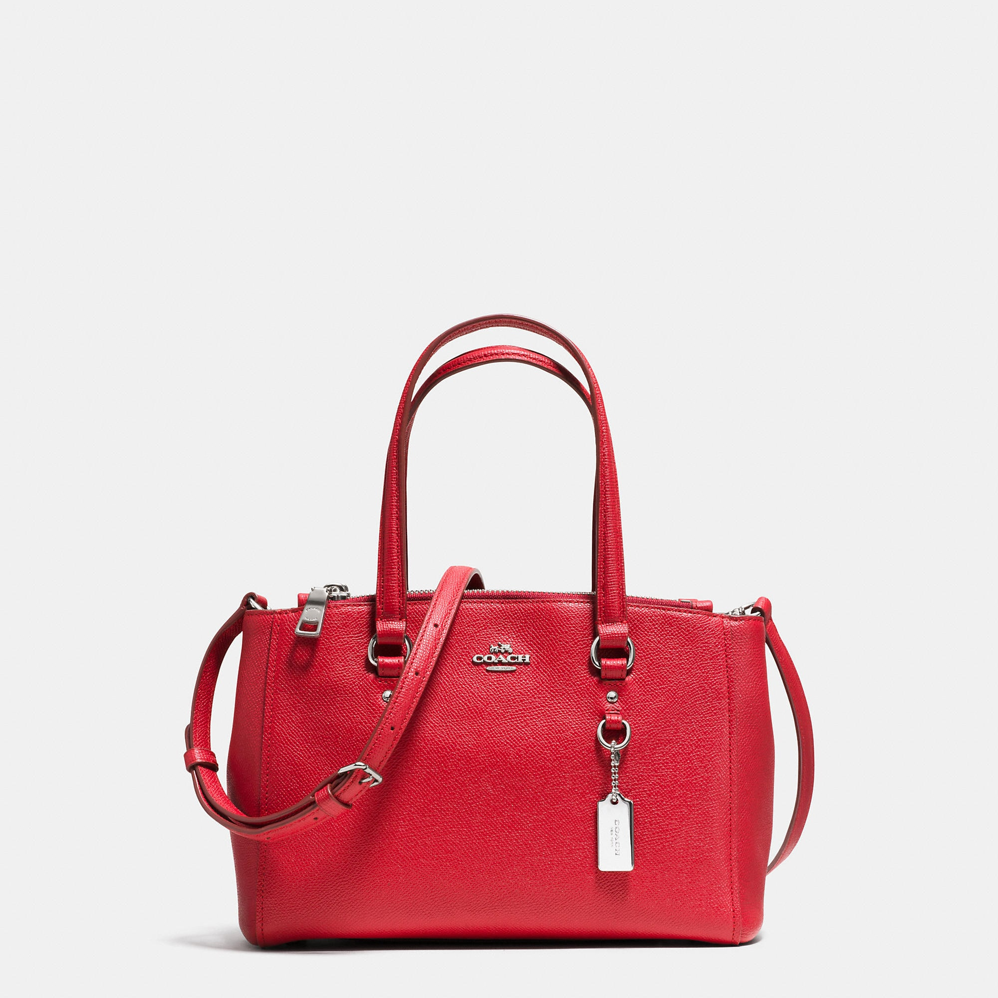 Coach Stanton Carryall 26 In Crossgrain Leather