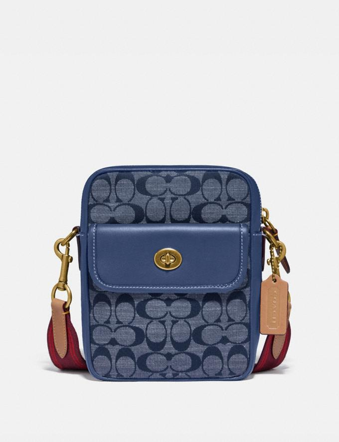 Coach Dylan 15 in Signature Chambray Ol/Chambray Gifts For Him Under $300