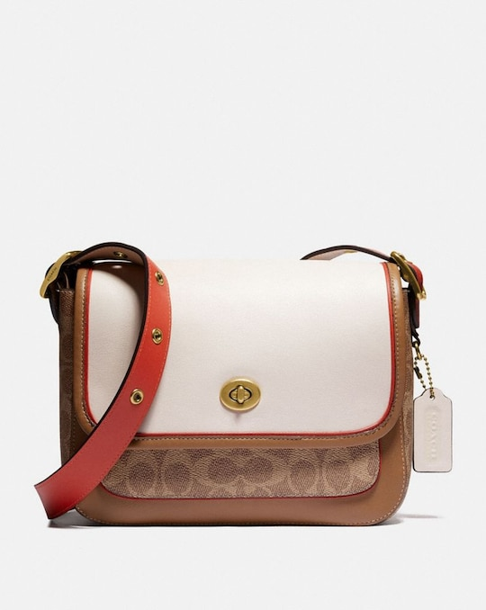 RAMBLER CROSSBODY IN SIGNATURE CANVAS