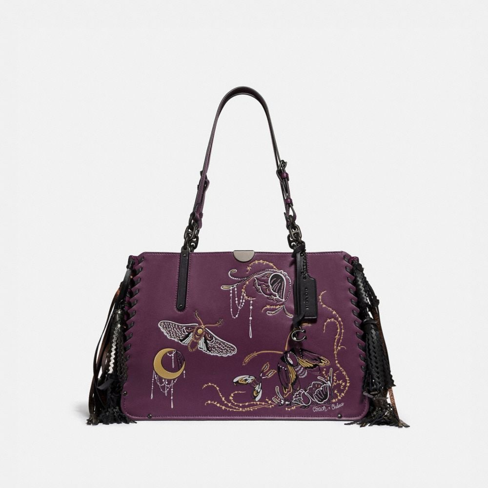 Coach Dreamer Tote 34 With Tattoo