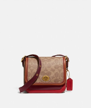 RAMBLER CROSSBODY 16 IN SIGNATURE CANVAS