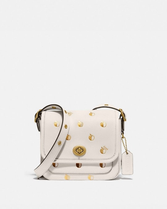 RAMBLER CROSSBODY 16 WITH APPLE PRINT