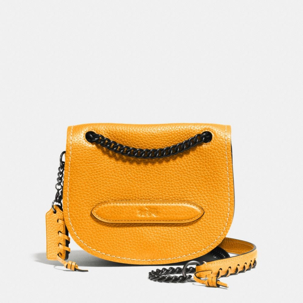 Small Shadow Crossbody in Pebble Leather