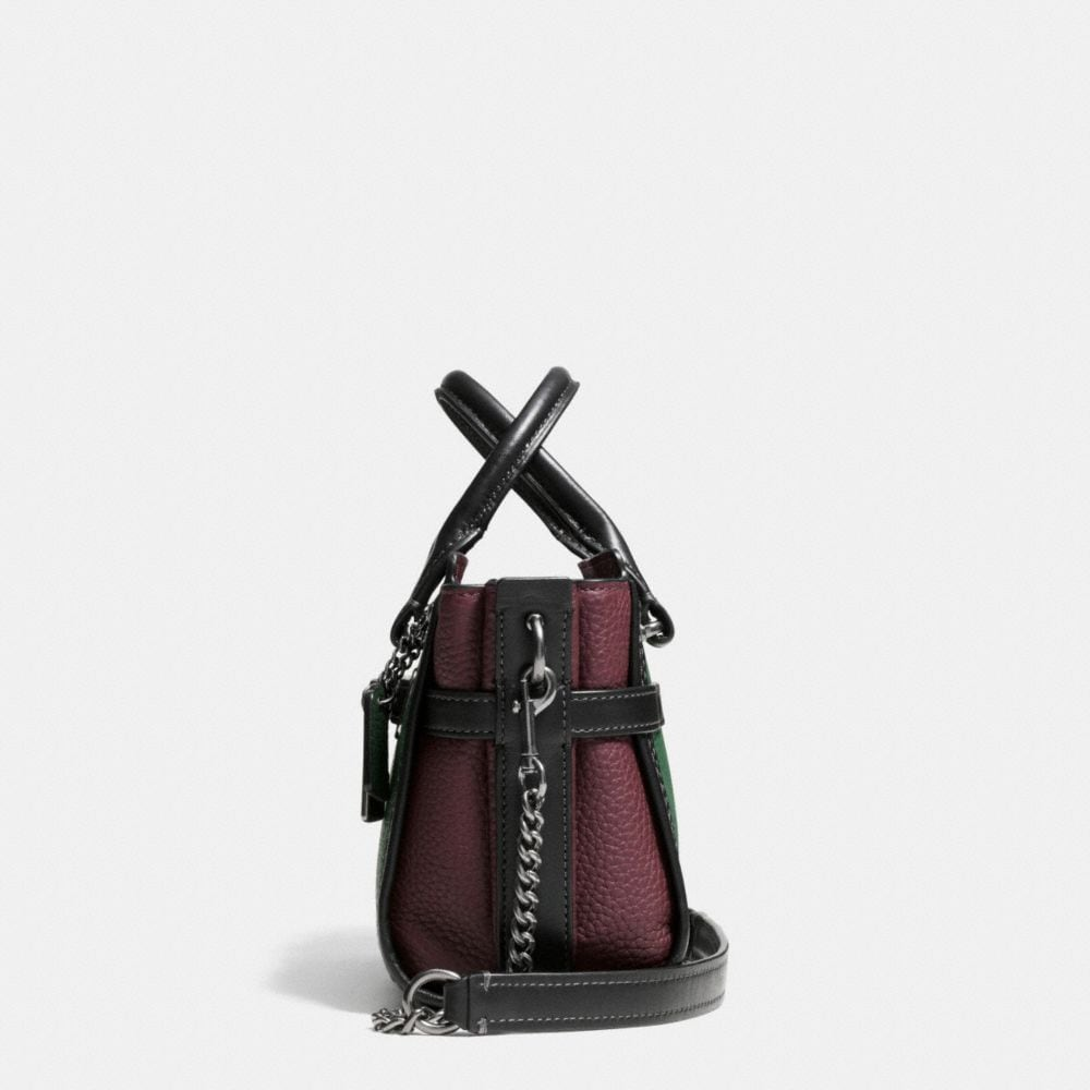 Coach Swagger 20 With Chain in Pebble Leather - Alternate View A1