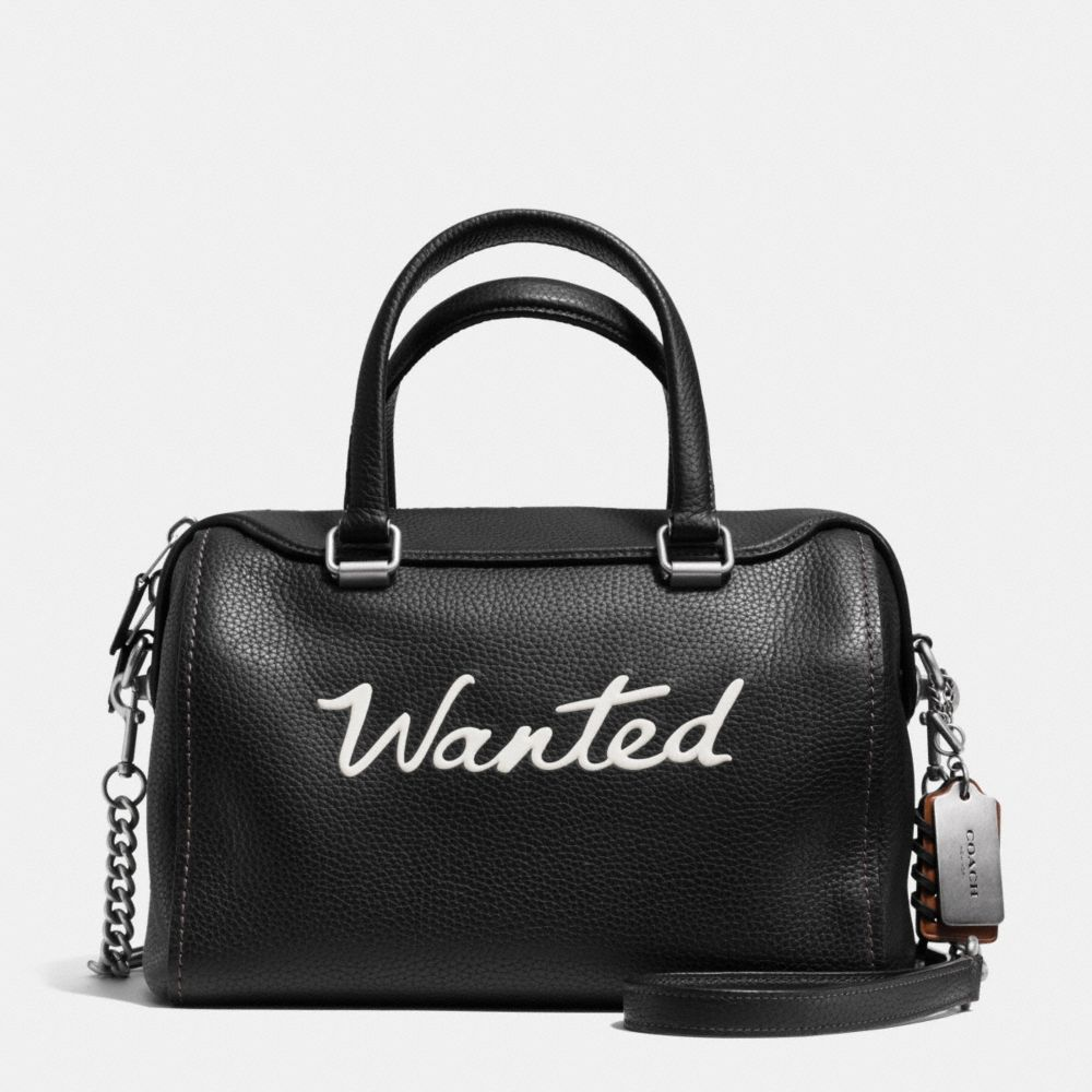 Wanted Surrey Satchel in Leather