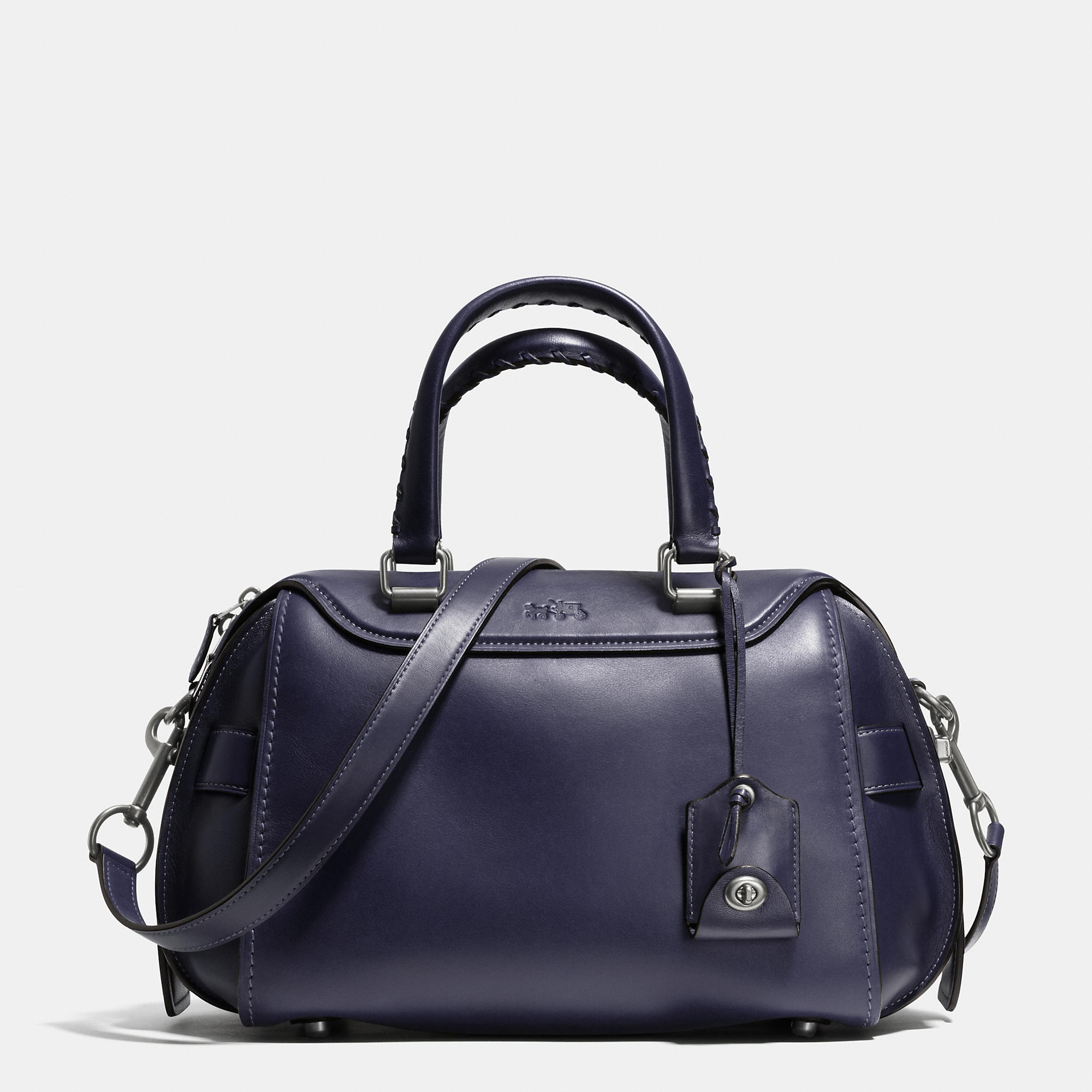 Coach Ace Satchel In Glovetanned Leather