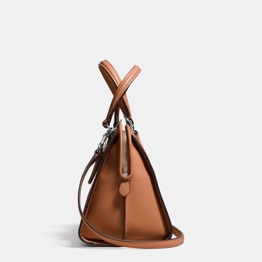 Nolita Satchel in Crossgrain Leather - Alternate View A1