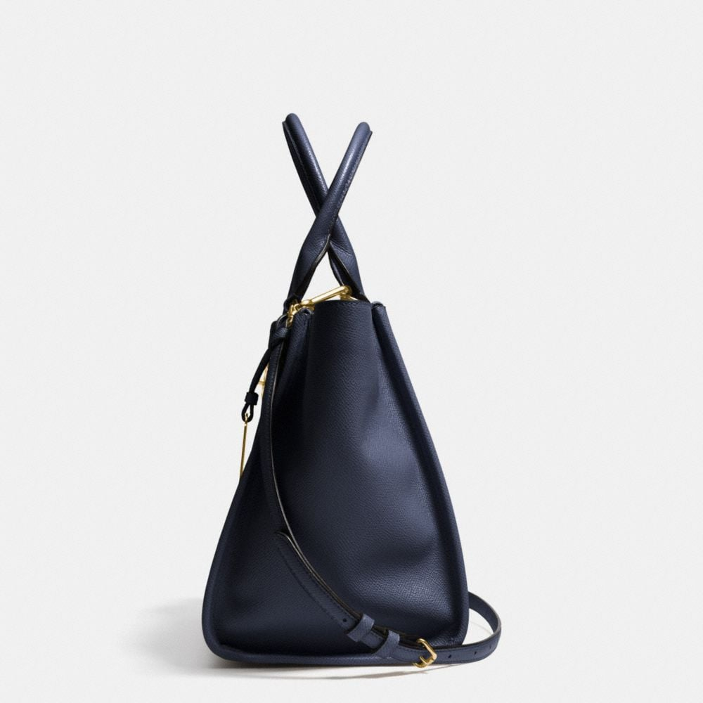 Crosby Carryall in Crossgrain Leather - Alternate View A1