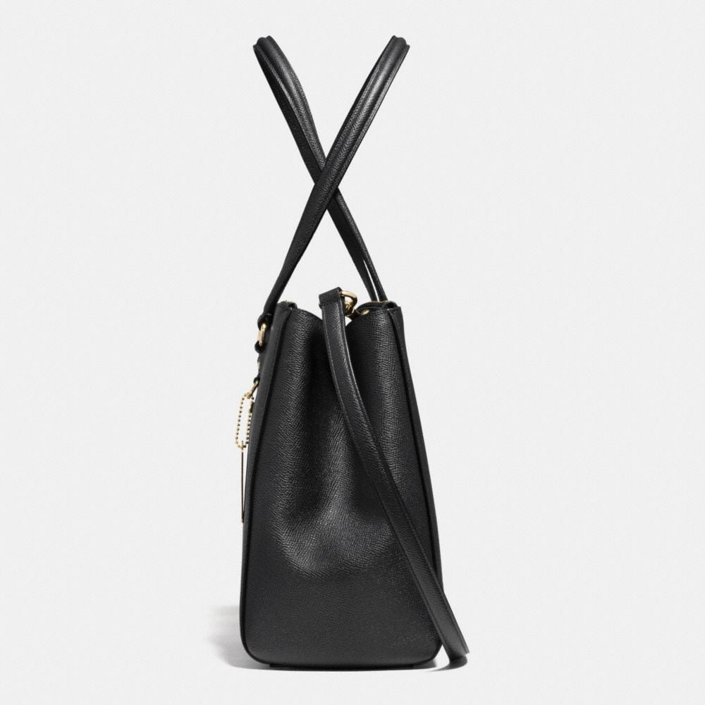 Stanton Carryall in Crossgrain Leather - Alternate View A1