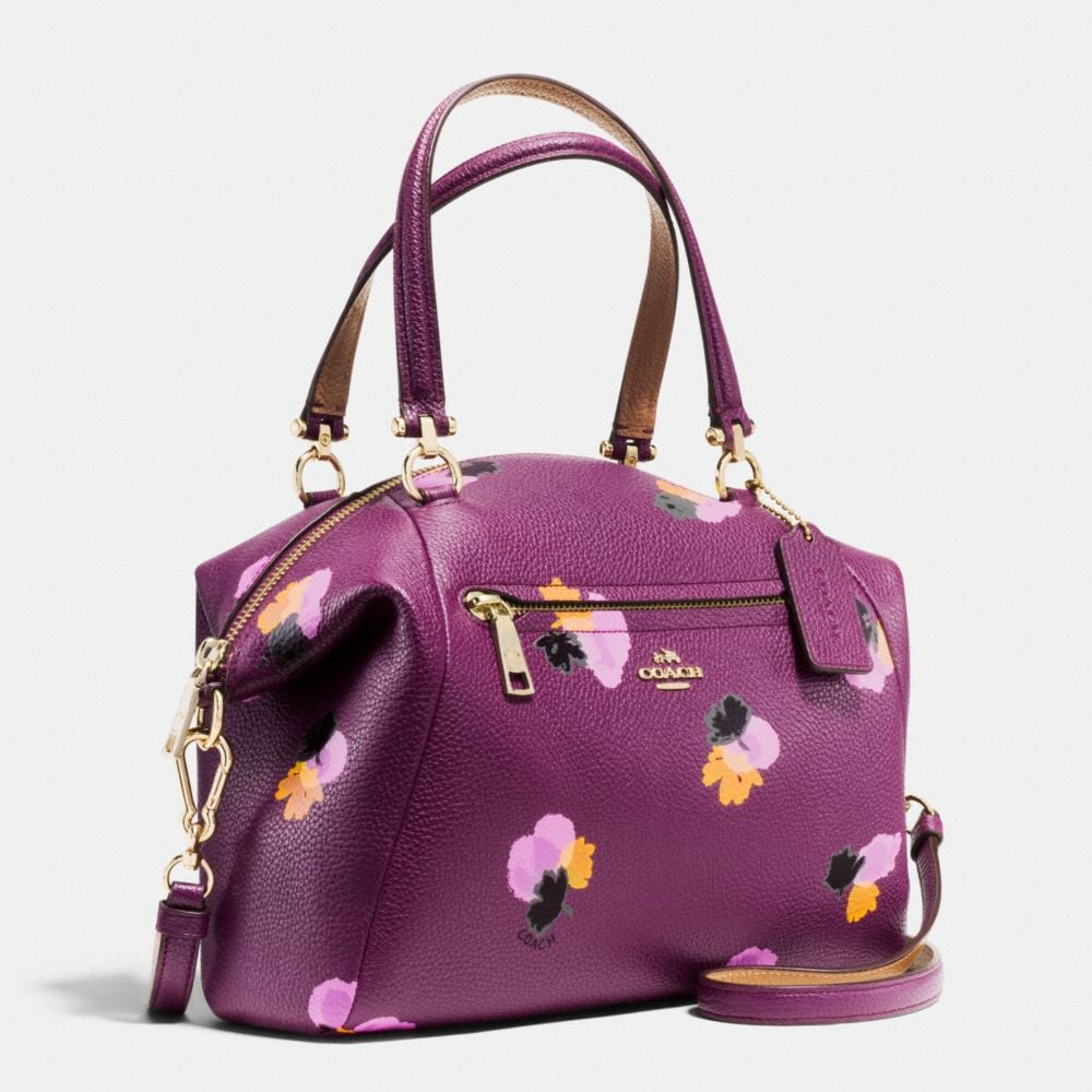 Australia Coach Poppy Bag Purple Flowers Cee76 31a2a