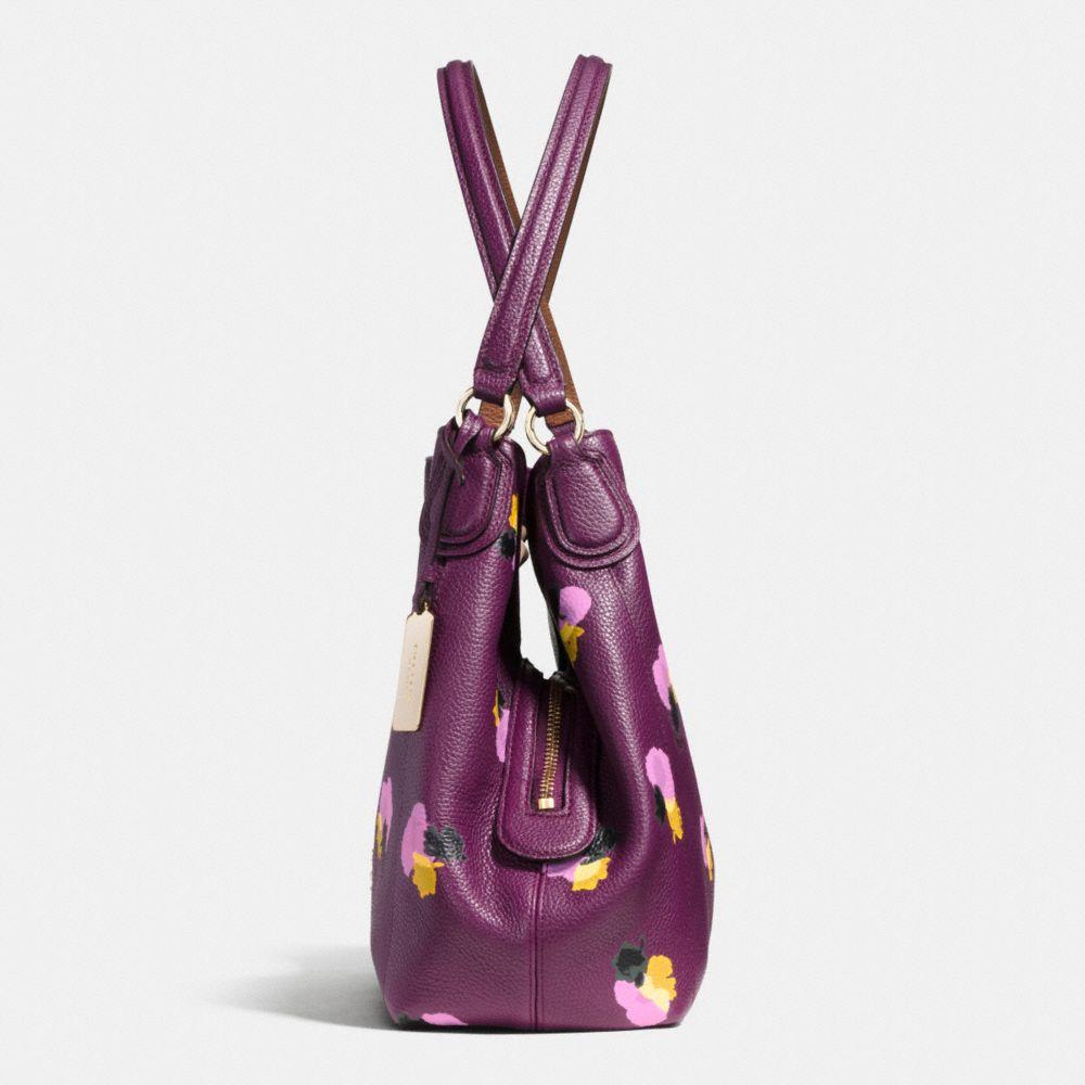 Edie Shoulder Bag 31 in Floral Print Leather - Alternate View A1