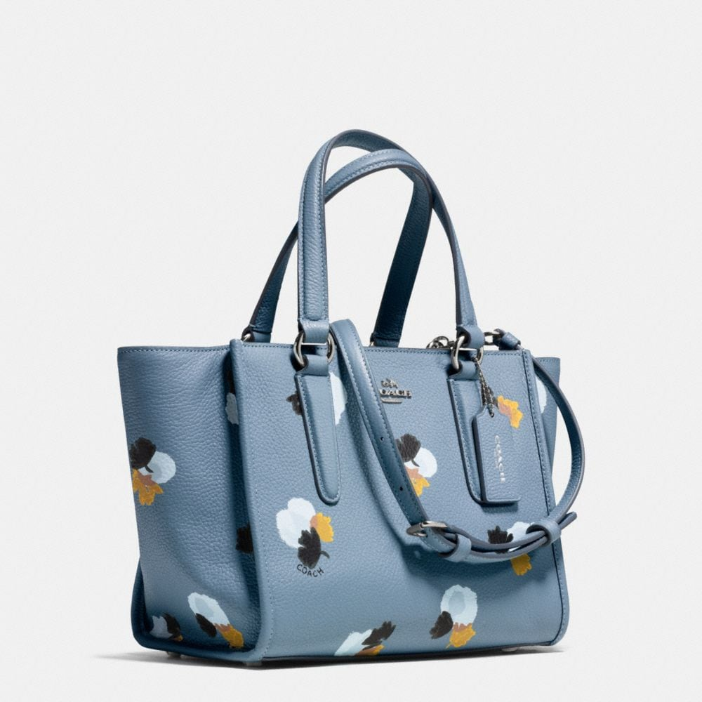 Mini Crosby Carryall in Floral Print Pebble Leather - Autres affichages A2