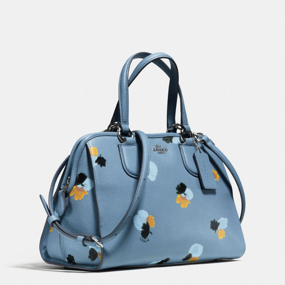 Nolita Satchel in Floral Print Pebble Leather - Alternate View A2