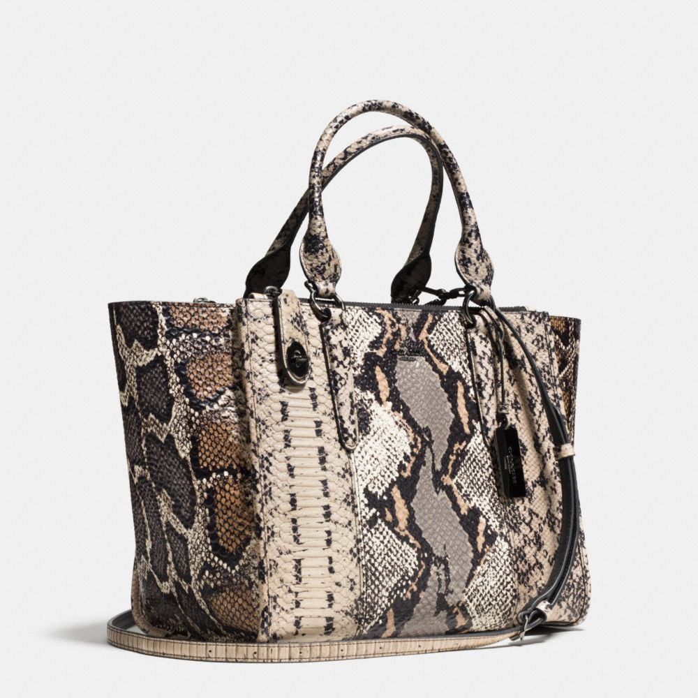 Crosby Carryall in Pieced Exotic Embossed Leather - Alternate View A2