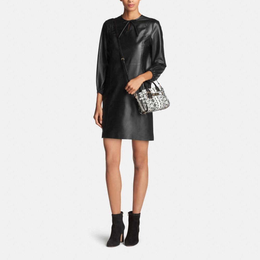 Coach Swagger 20 in Colorblock Exotic Embossed Leather - Autres affichages M