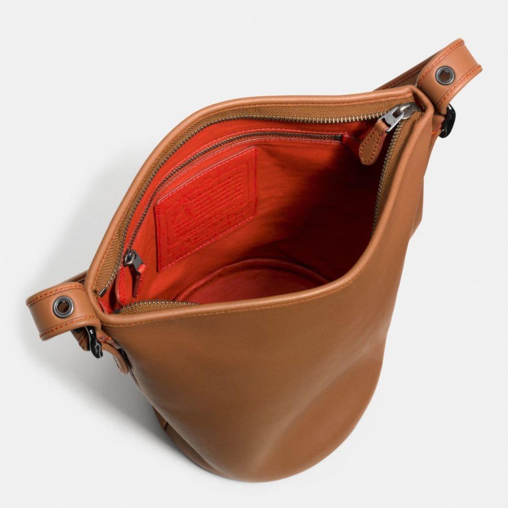 Mini Duffle in Glovetanned Leather - Alternate View A3