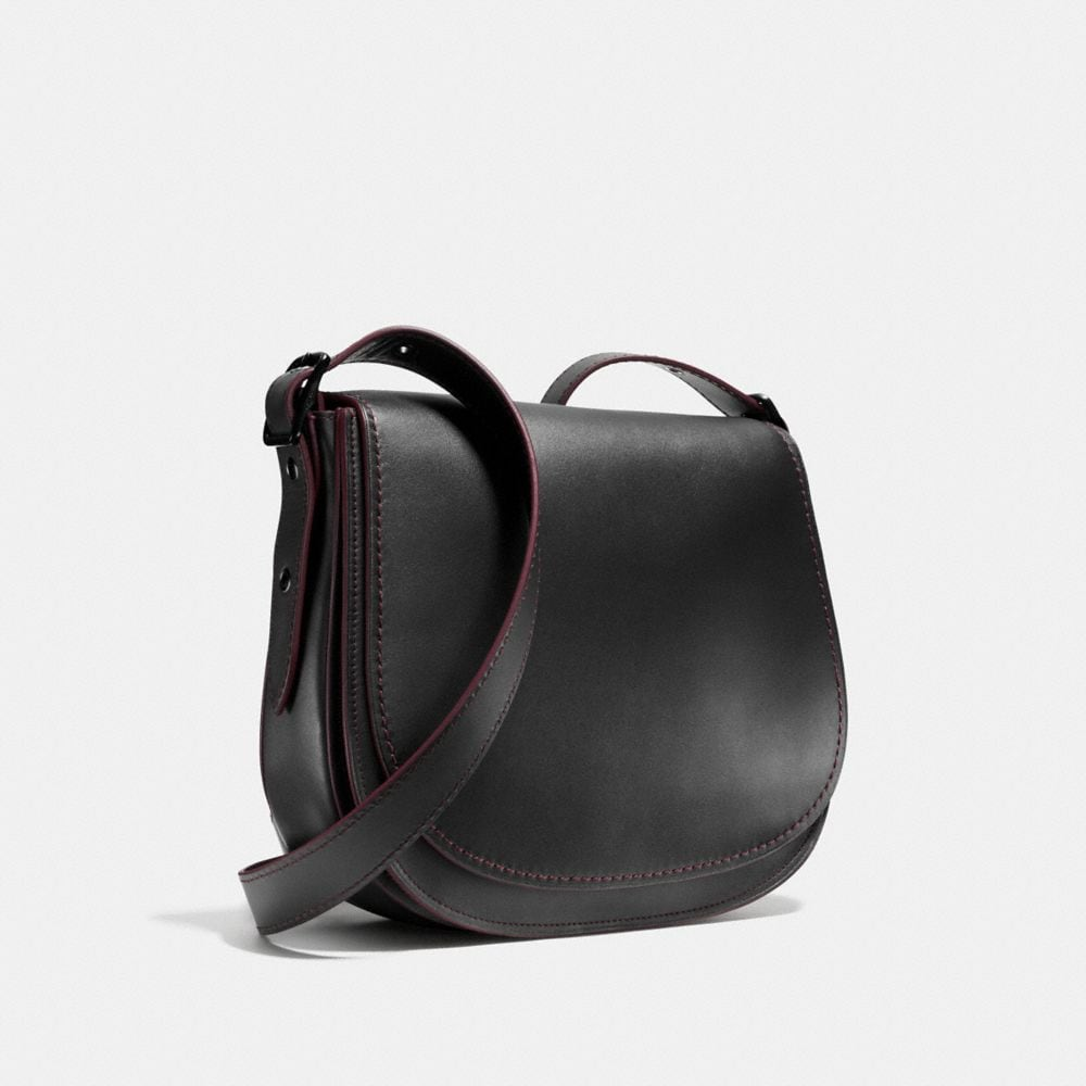 Saddle Bag in Glovetanned Leather - Autres affichages A3