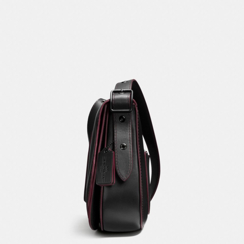 Coach Saddle Bag With Personalized Storypatch Alternate View 2