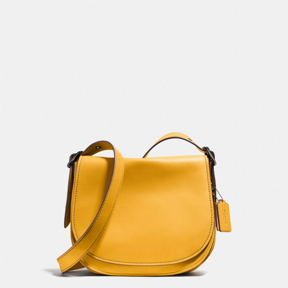 Coach Saddle Bag With Personalized Storypatch