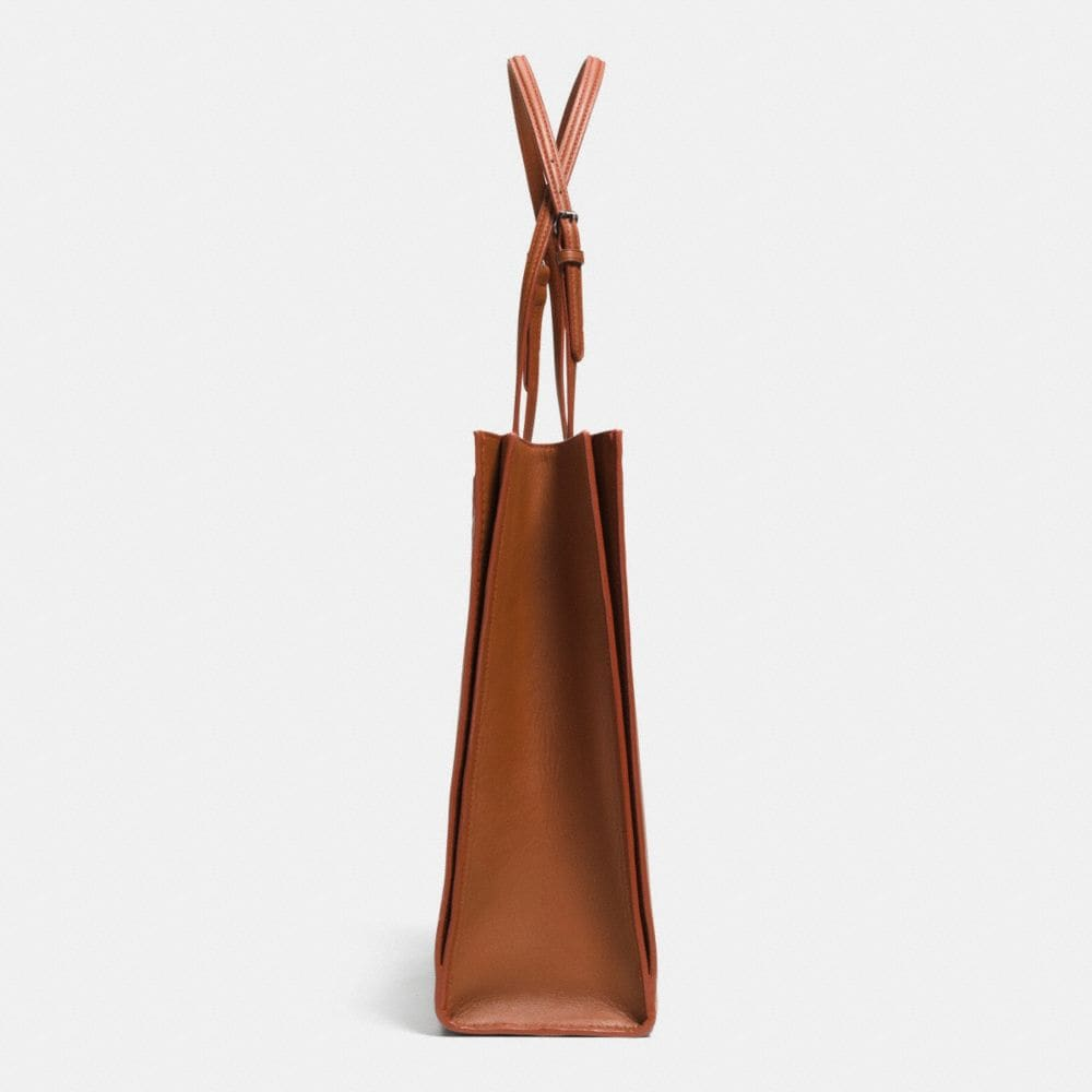 Skinny Tote in Glovetanned Leather - Alternate View A1