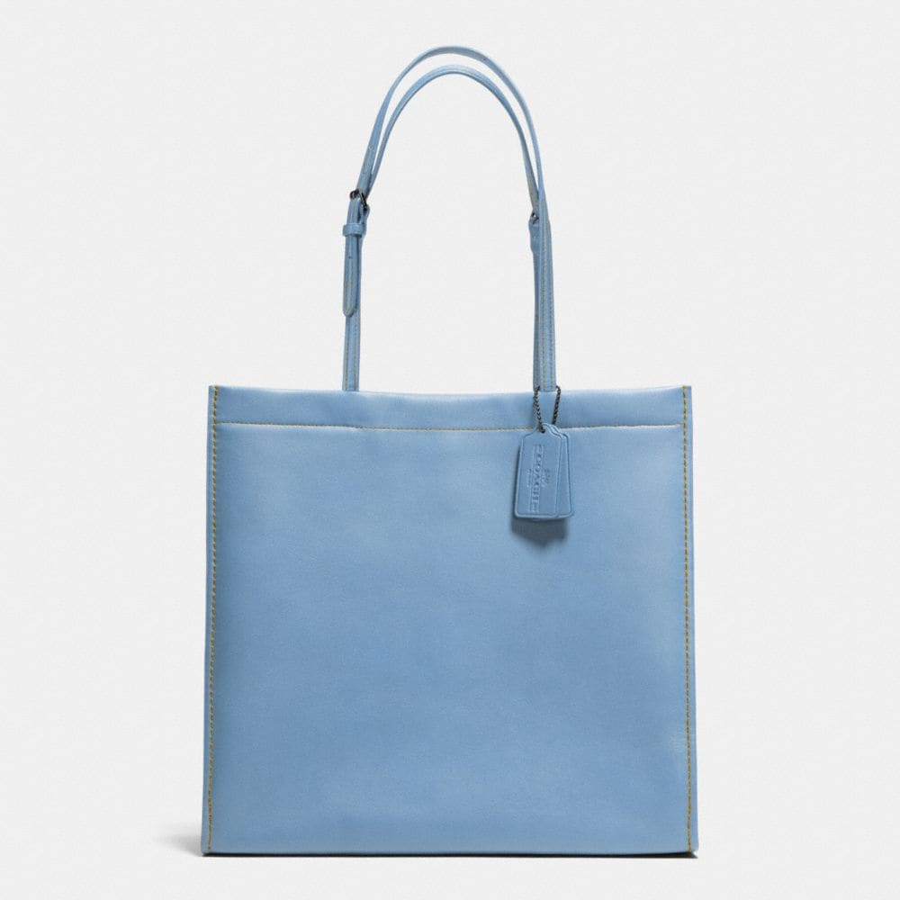 SKINNY TOTE IN GLOVETANNED LEATHER