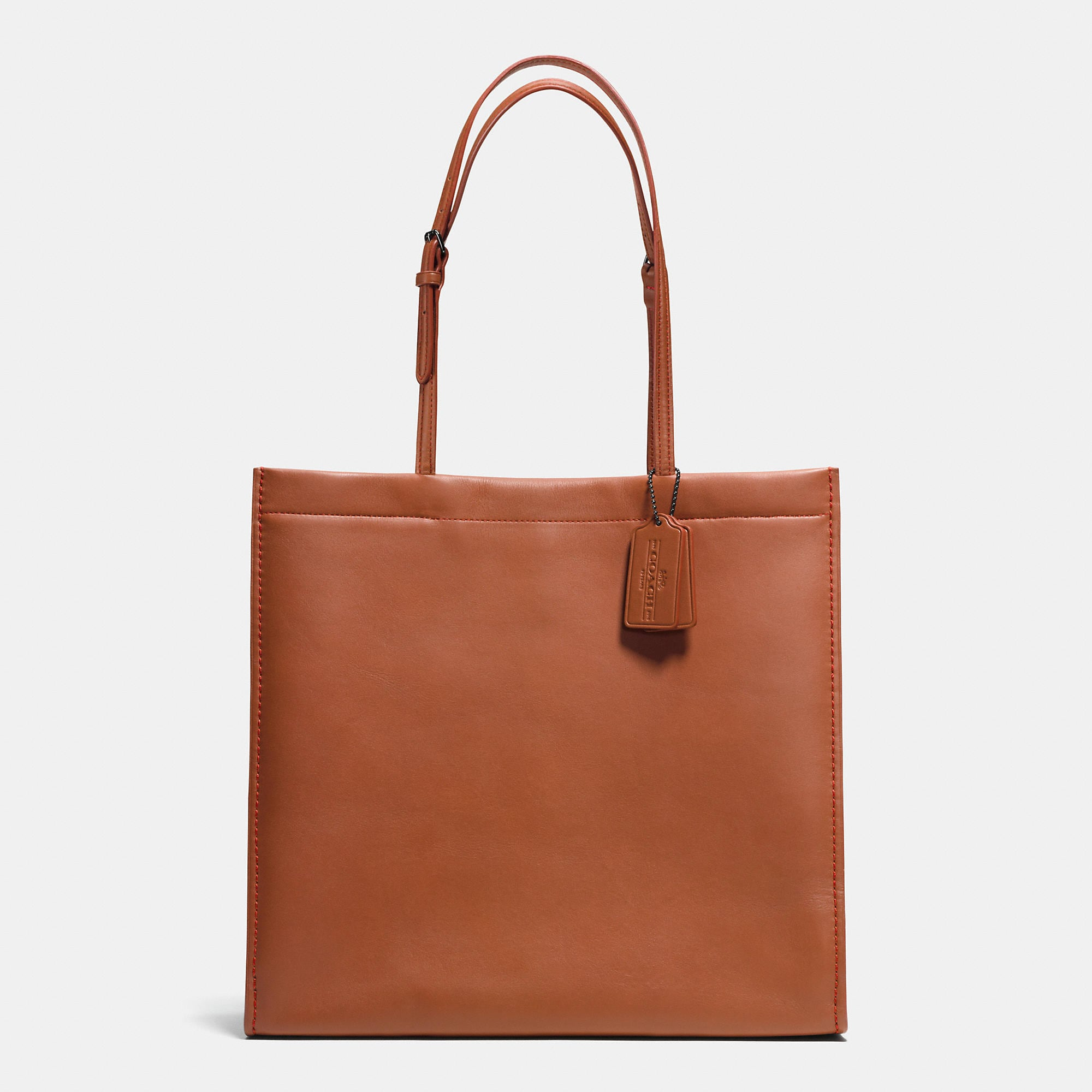 Coach Skinny Tote in Glovetanned Leather