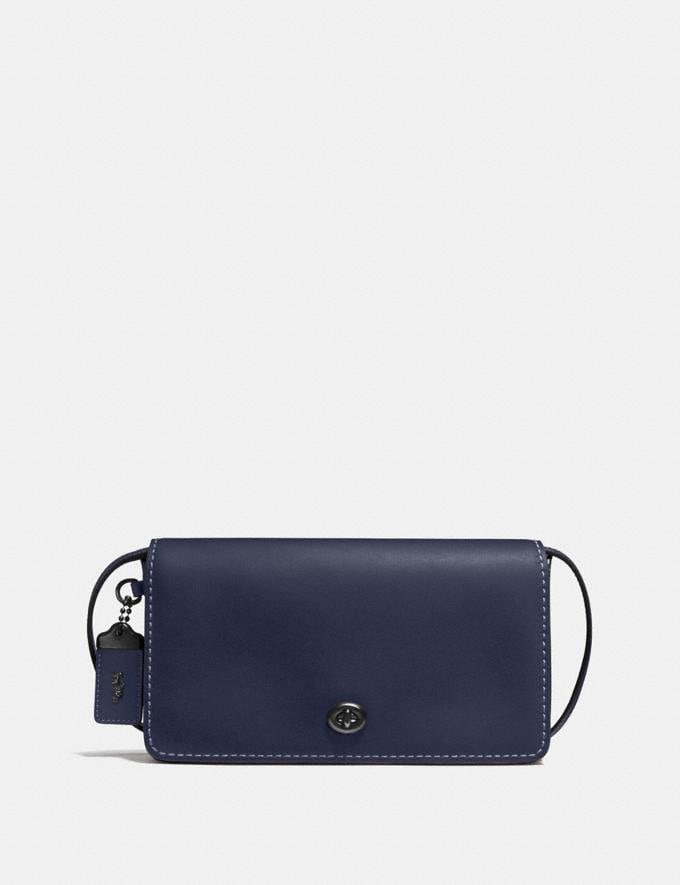 Coach Dinky Midnight Navy/Black Copper CYBER MONDAY SALE Women's Sale Bags