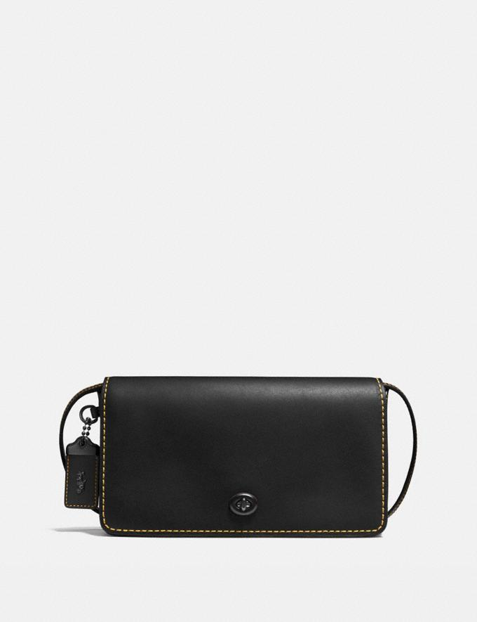 Coach Dinky Black/Honey/Black Copper SALE Women's Sale