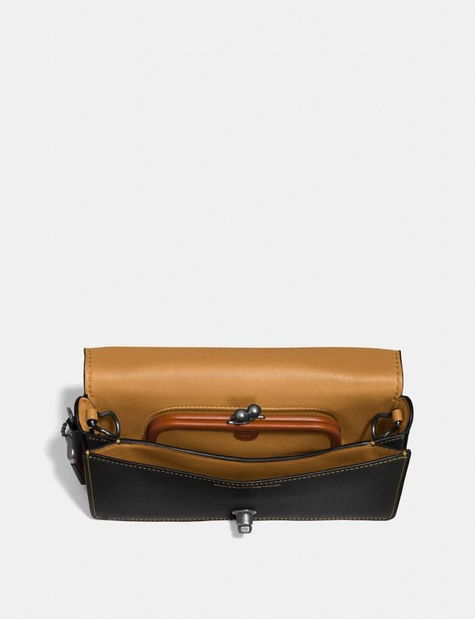 Coach Dinky Black/Honey/Black Copper SALE Women's Sale Alternate View 2