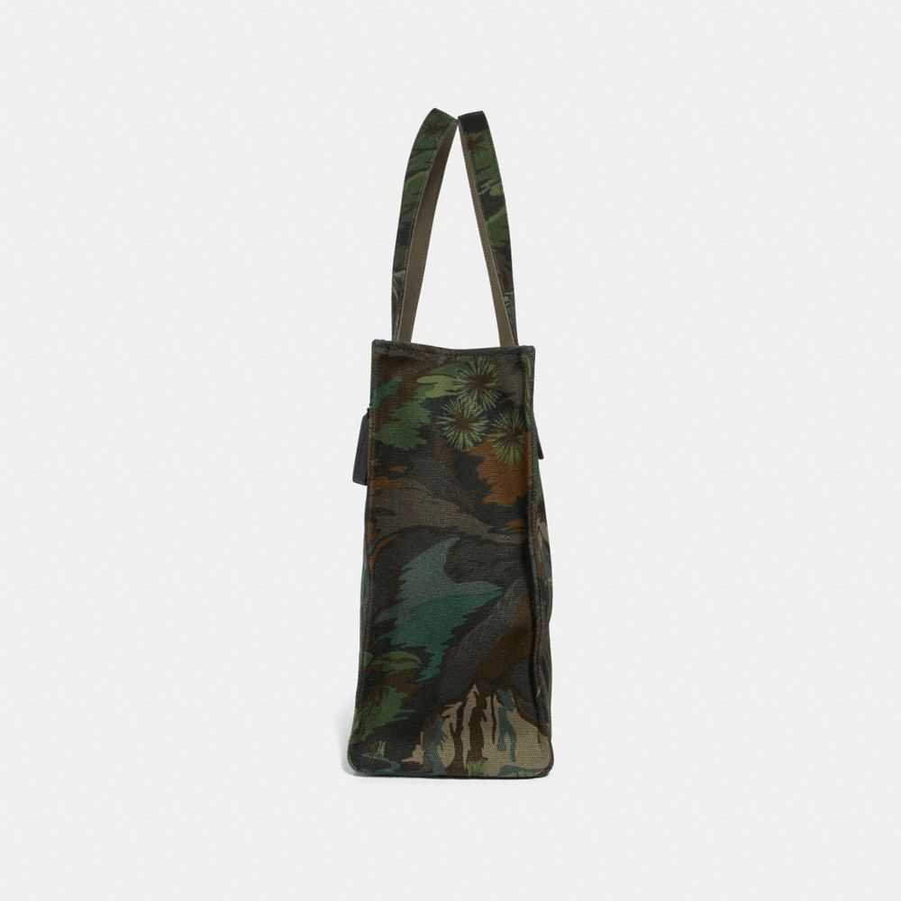 Coach Tote 42 With Landscape Print Alternate View 1