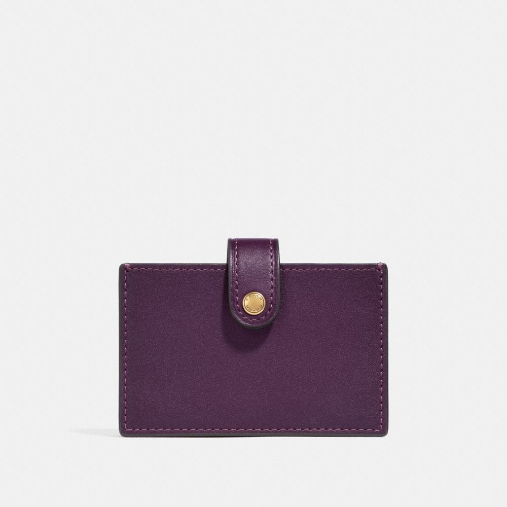 Coach Accordion Card Case in Colorblock