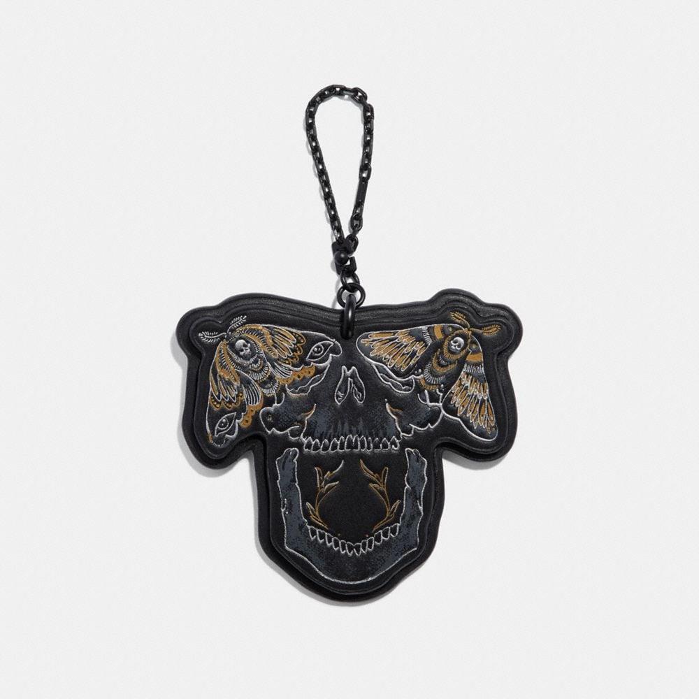chelsea skull bag charm