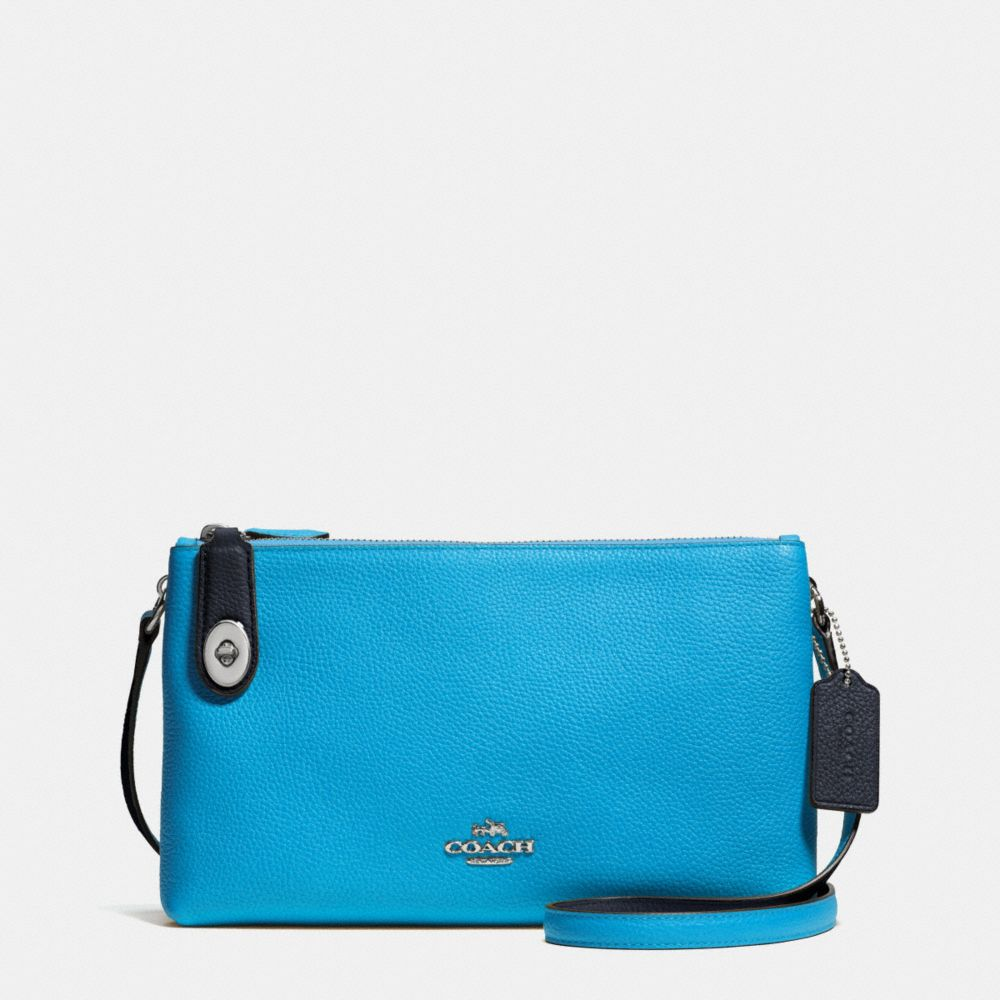 Crosby Crossbody in Bicolor Leather