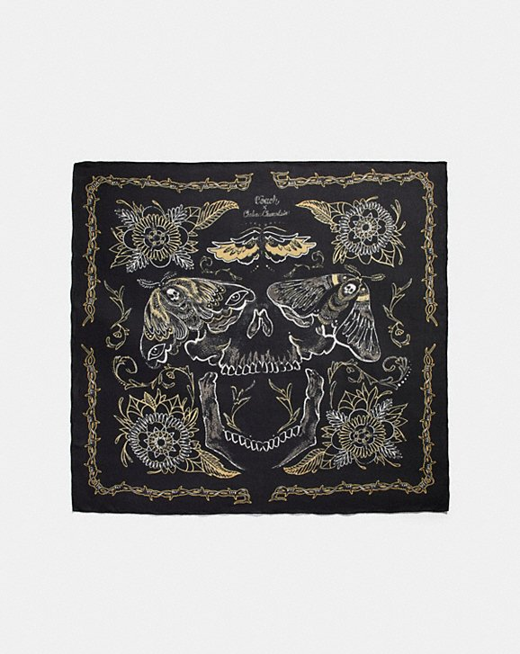 Coach TATTOO SKULL OVERSIZED SQUARE