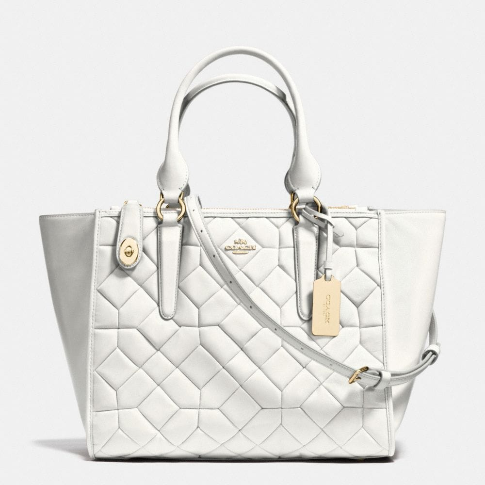 Crosby Carryall in Canyon Quilt Leather