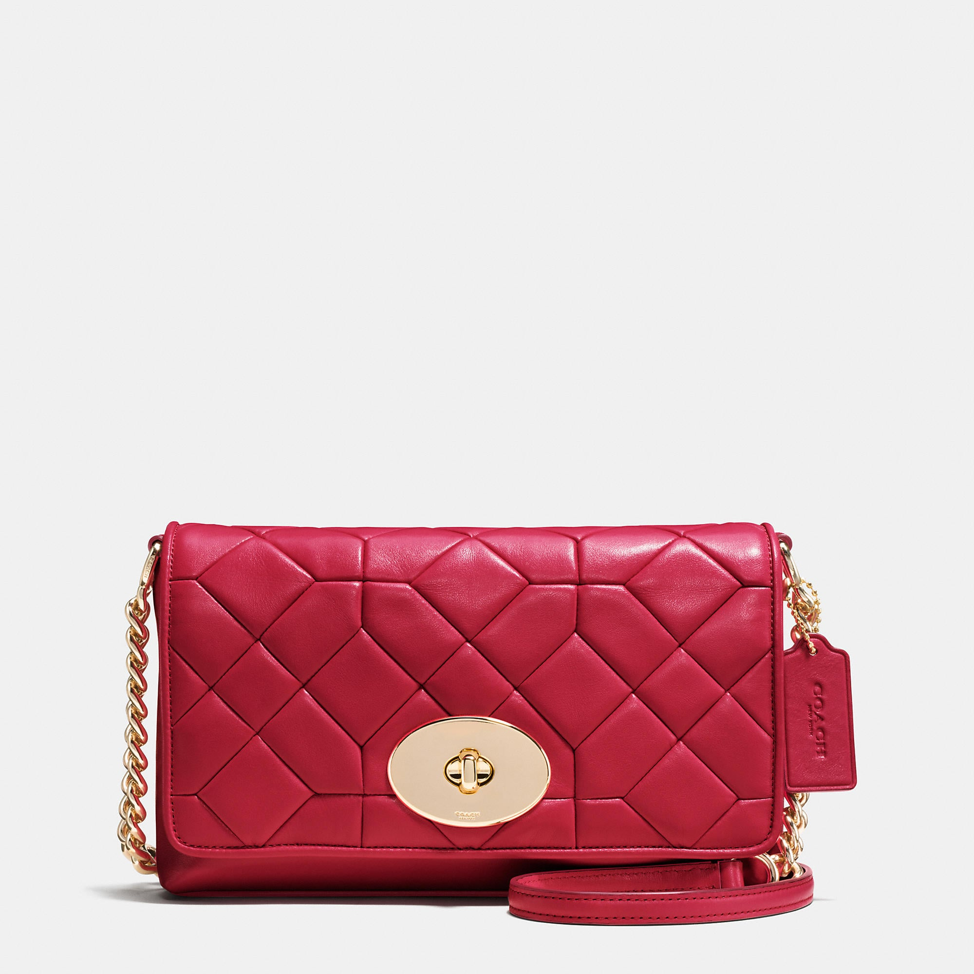 Coach Crosstown Crossbody In Canyon Quilt Leather