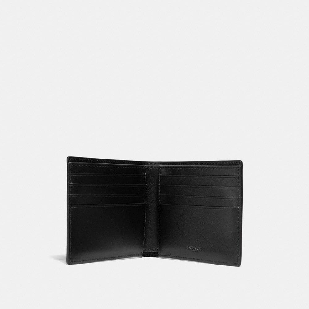 Coach Double Billfold Wallet With Rodeo Print Alternate View 1