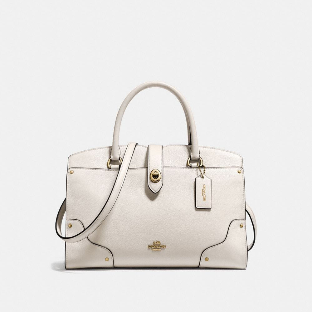 COACH Mercer Satchel 30 In Grain Leather at COACH