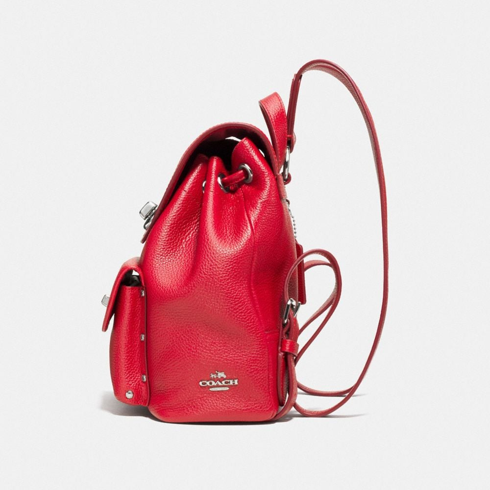 Coach Mini Turnlock Rucksack Alternate View 1