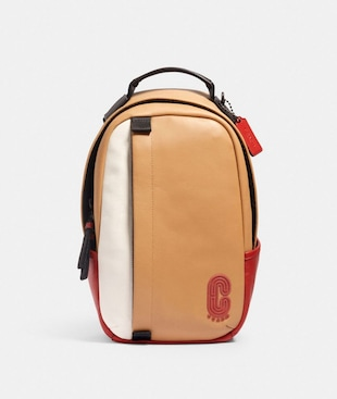 EDGE PACK IN COLORBLOCK WITH COACH PATCH