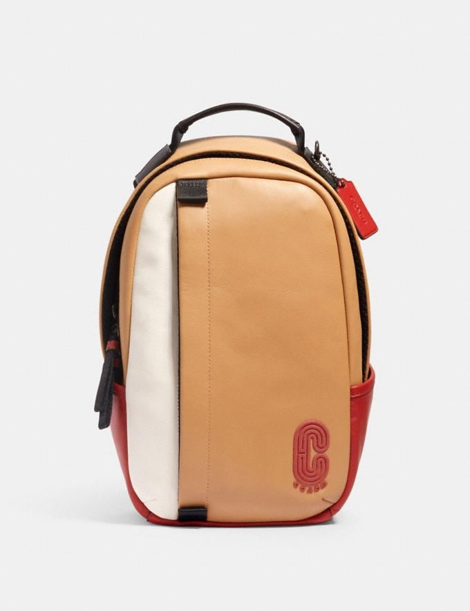 Coach Edge Pack in Colorblock With Coach Patch Qb/Latte Multi Men