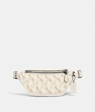 WARREN MINI BELT BAG WITH HORSE AND CARRIAGE PRINT