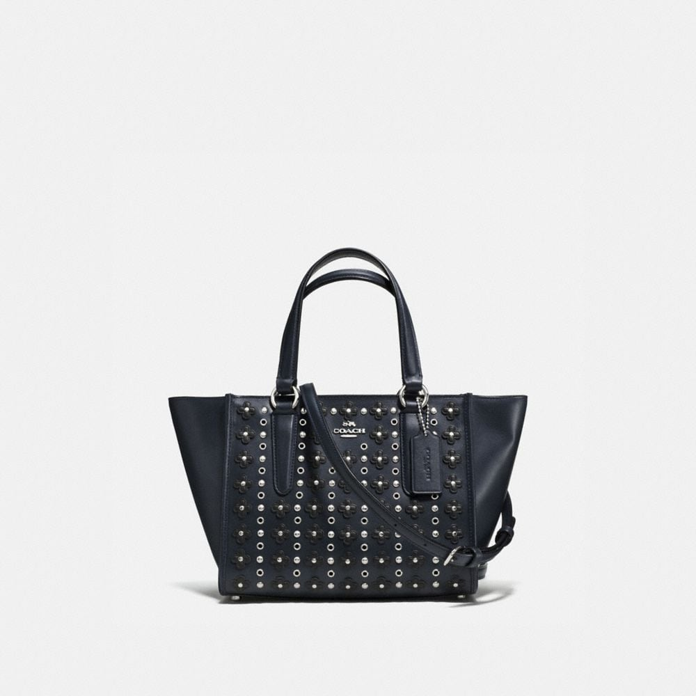 Mini Crosby Carryall in Floral Rivets Leather