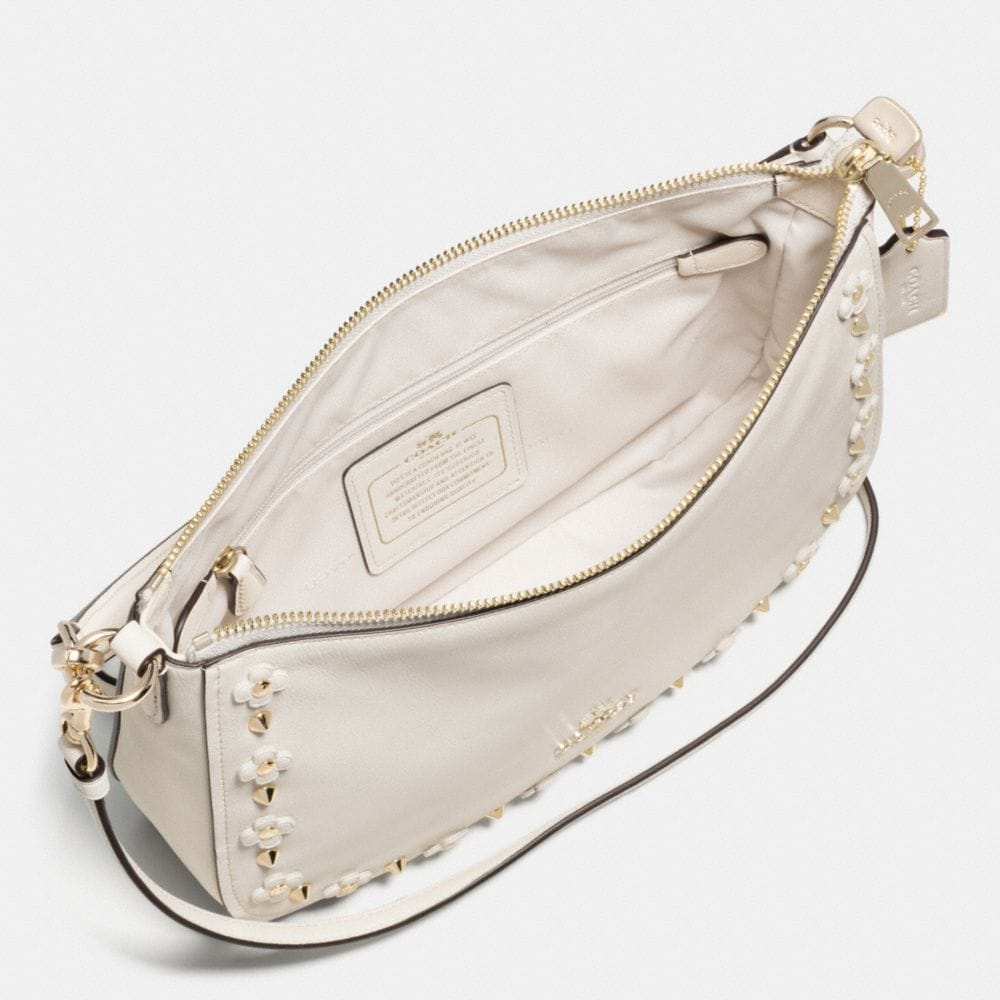 Chelsea Crossbody in Floral Rivets Leather - Alternate View A1