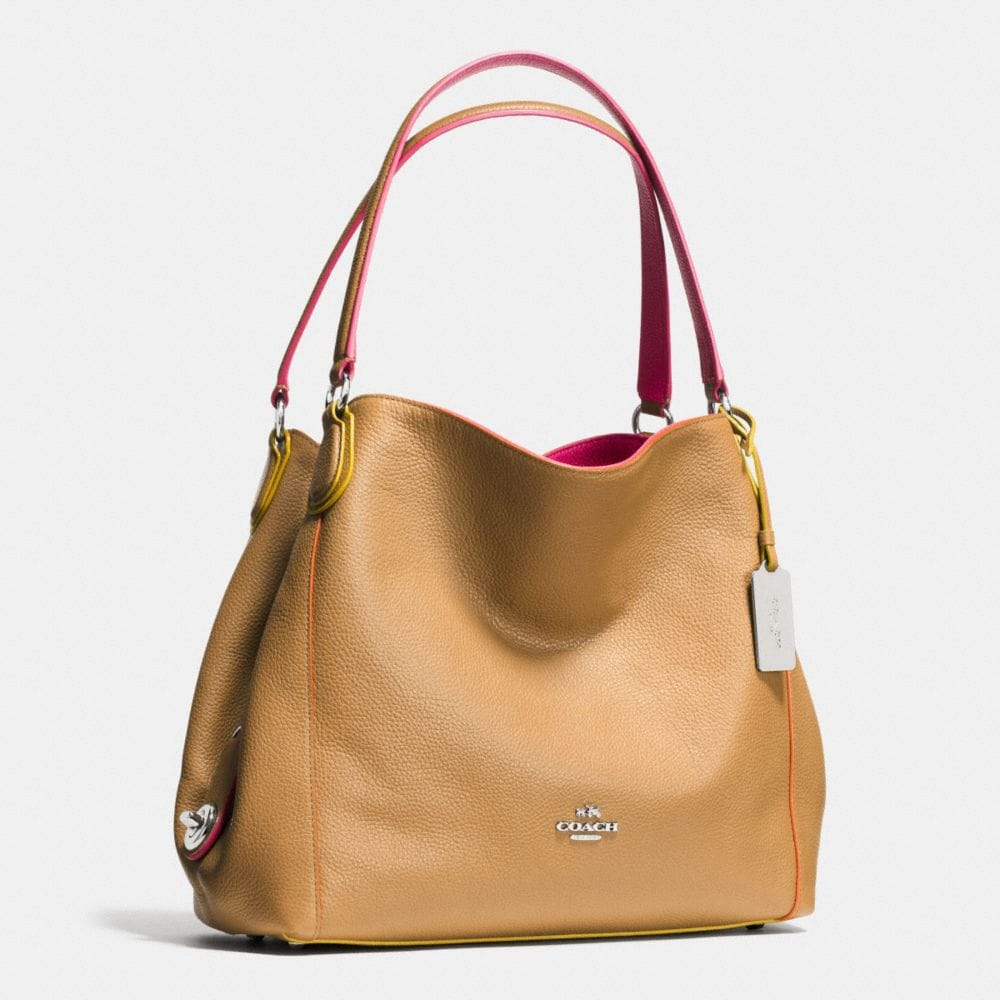 Edie Shoulder Bag 31 in Edgestain Leather - Autres affichages A2